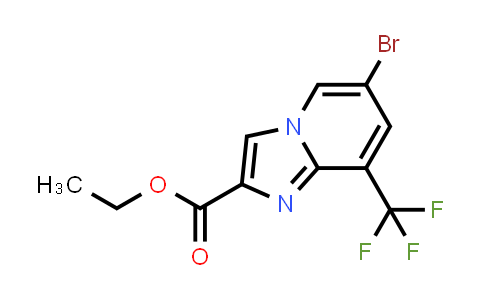 Ethyl 6-bromo-8-(trifluoromethyl)imidazo[1,2-A]pyridine-2-carboxylate