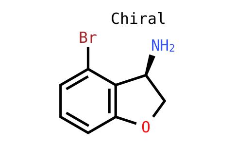 (3R)-4-Bromo-2,3-dihydrobenzo[B]furan-3-ylamine