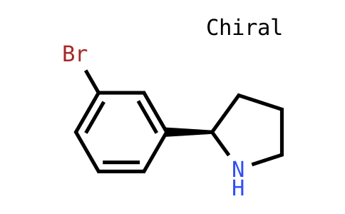 (R)-2-(3-Bromophenyl)pyrrolidine