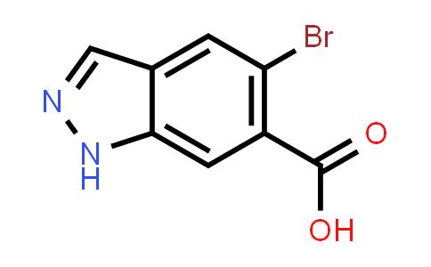 5-Bromo-1H-indazole-6-carboxylic acid