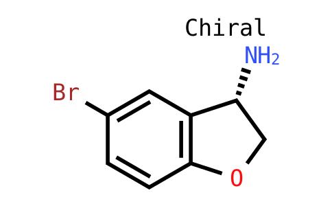 (S)-5-Bromo-2,3-dihydro-benzofuran-3-ylamine