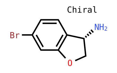 (3S)-6-Bromo-2,3-dihydrobenzo[B]furan-3-ylamine