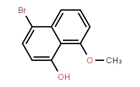 4-bromo-1-hydroxy-8-methoxynaphthalene