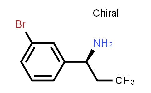 (S)-1-(3-Bromophenyl)propan-1-amine