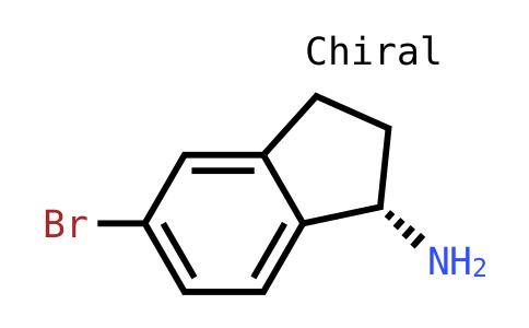 (S)-5-溴-2,3-二氢-1H-茚-1-胺