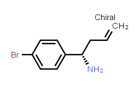 (S)-1-(4-Bromophenyl)but-3-EN-1-amine
