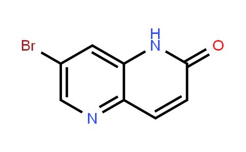 7-Bromo-1,5-naphthyridin-2(1h)-one