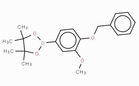 4-(Benzyloxy)-3-methoxyphenylboronic acid, pinacol ester