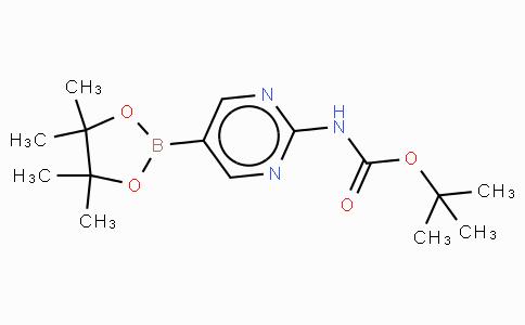 2-(Tert-butoxycarbonylamino)pyrimidine-5-boronic acid, pinacol ester