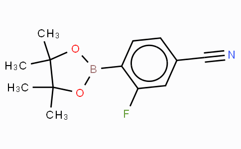 4-Cyano-2-fluorophenylboronic acid, pinacol ester