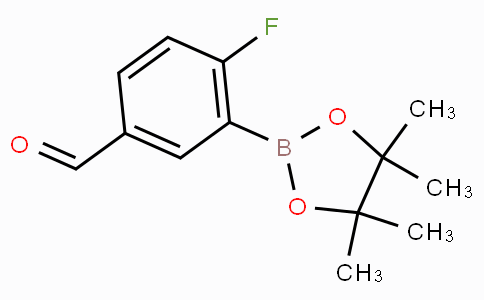 2-Fluoro-5-formylphenylboronic acid pinacol ester