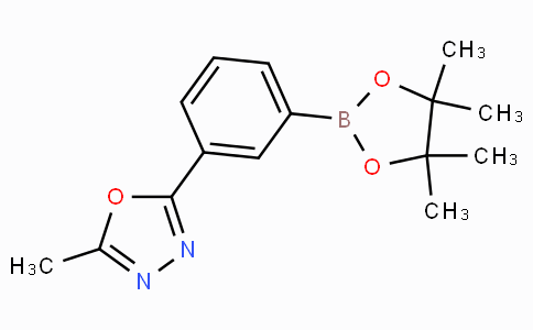 2-Methyl-5-[3-(4,4,5,5-tetramethyl-1,3,2-dioxaborolan-2-yl)phenyl]-1,3,4-oxadiazole
