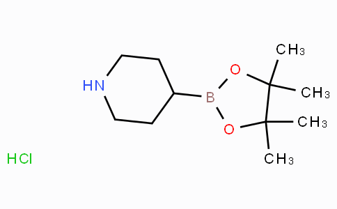 Piperidine-4-boronic acid pinacol ester HCl