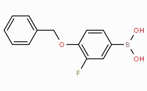 4-Benzyloxy-3-fluorophenylboronic acid