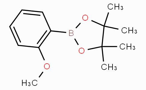 2-(2-Methoxyphenyl)-4,4,5,5-tetramethyl-1,3,2-dioxaborolane
