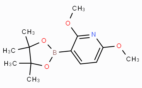 2,6-Dimethoxy-3-(4,4,5,5-tetramethyl-1,3,2-dioxaborolan-2-yl)pyridine