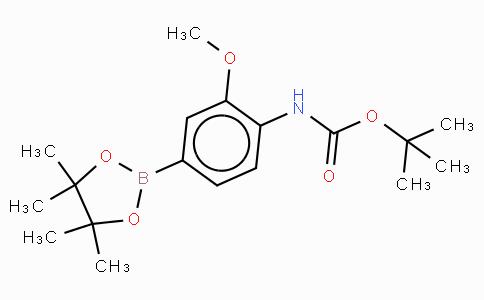 4-(Tert-butoxycarbonylamino)-3-methoxyphenylboronic acid, pinacol ester