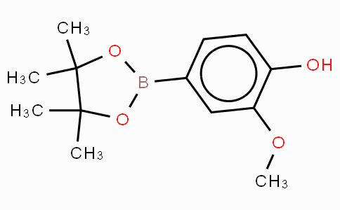 4-Hydroxy-3-methoxybenzeneboronic acid, pinacol ester