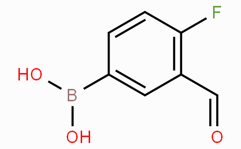 4-Fluoro-3-formylphenylboronic acid