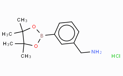 (3-Aminomethylphenyl)boronic acid, pinacol ester hydrochloride
