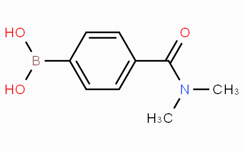 4-(N,N-dimethylaminocarbonyl)phenylboronic acid