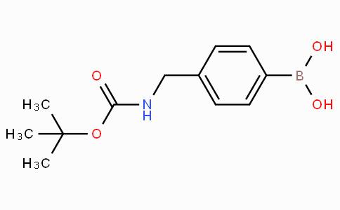 4-((N-boc-amino)methyl)phenylboronic acid