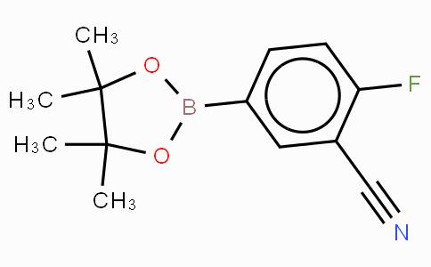 3-Cyano-4-fluorophenylboronic acid, pinacol ester