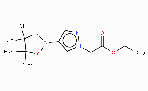 1-(Ethoxycarbonylmethyl)-1H-pyrazole-4-boronic acid, pinacol ester