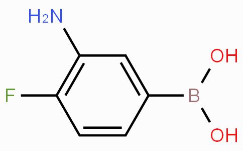 3-Amino-4-fluorophenylboronic acid