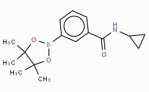 3-(N-cyclopropylaminocarbonyl)phenylboronic acid, pinacol ester