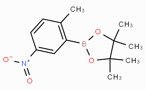 4,4,5,5-Tetramethyl-2-(2-methyl-5-nitrophenyl)-1,3,2-dioxaborolane