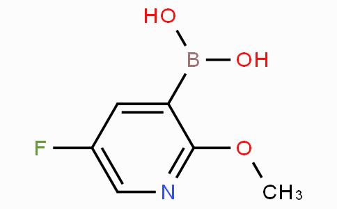 5-Fluoro-2-methoxy-3-pyridineboronic acid