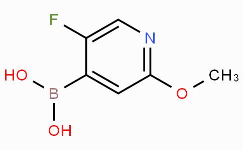 5-Fluoro-2-methoxypyridin-4-ylboronic acid