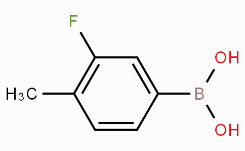 3-氟-4-甲基苯硼酸(含有数量不等的酸酐)