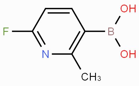 2-Fluoro-6-picoline-5-boronic acid