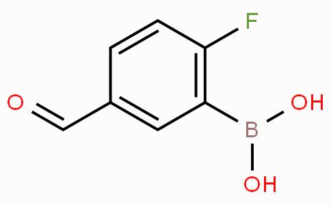 2-Fluoro-5-formylphenylboronic acid