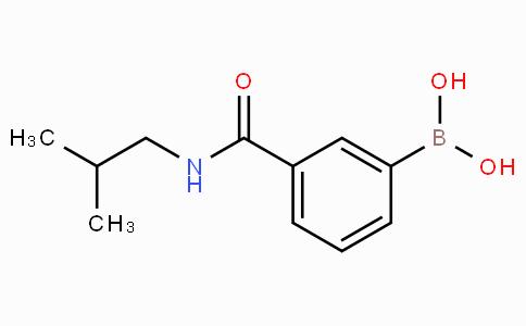 3-异丁氨基羰基苯硼酸