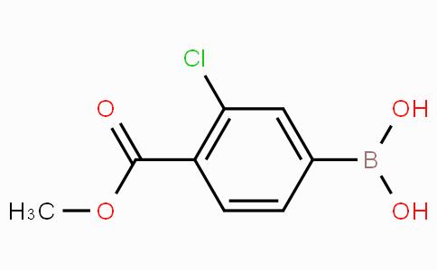 3-Chloro-4-(methoxycarbonyl)phenylboronic acid