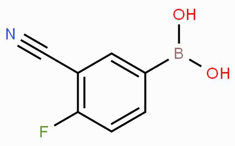 3-氰基-4-氟苯基硼酸