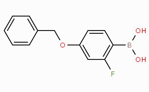 4-Benzyloxy-2-fluorophenylboronic acid