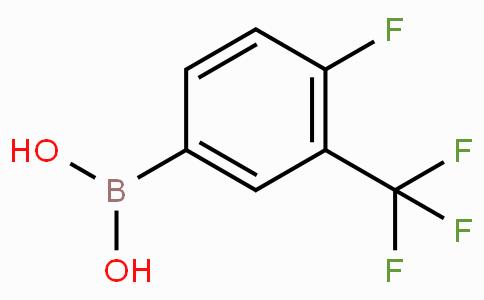 4-Fluoro-3-(trifluoromethyl)phenylboronic acid