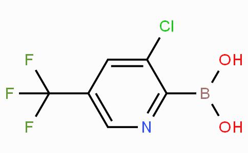 3-Chloro-5-(trifluoromethyl)pyridin-2-boronic acid