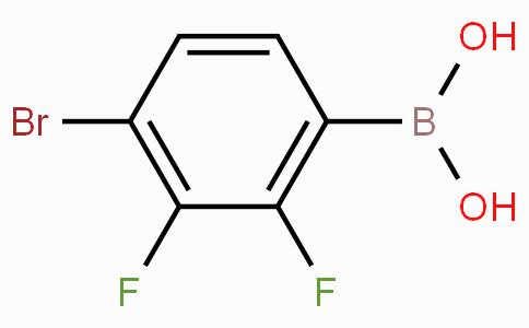 4-溴-2,3-二氟苯硼酸