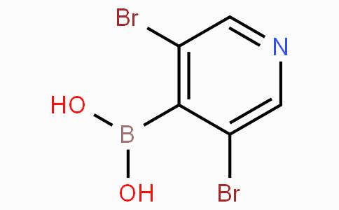 3,5-Dibromopyridine-4-boronic acid