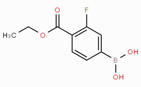 4-Ethoxycarbonyl-3-fluorophenylboronic acid