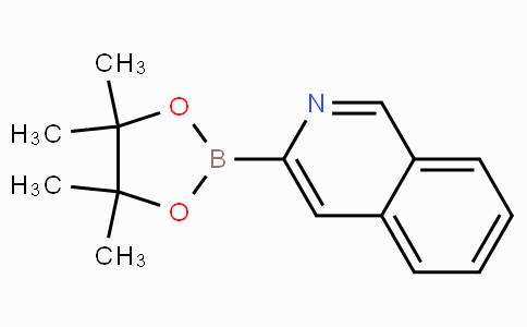 3-(4,4,5,5-Tetramethyl-1,3,2-dioxaborolan-2-yl)isoquinoline