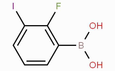 2-Fluoro-3-iodophenylboronic acid