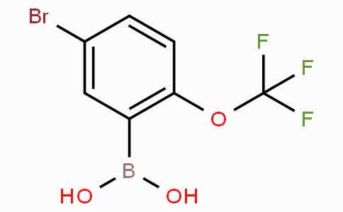 5-Bromo-2-trifluoromethoxyphenylboronic acid