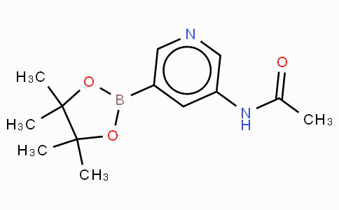 5-N-acetyl-amino-pyridin-3-yl boronic acid pinacol ester