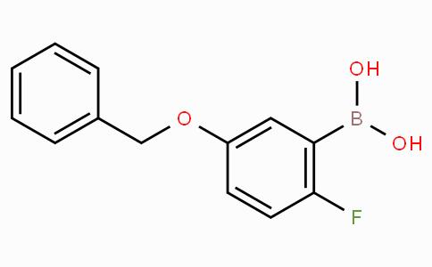 5-(Benzyloxy)-2-fluorophenylboronic acid